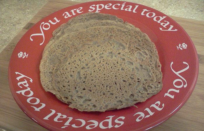 Buckwheat-Teff-Crepes